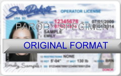 Sd Cards South License And Dakota Id Drivers Fake